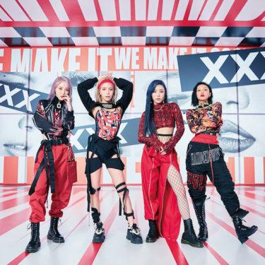 MAMAMOO(ママム)  明日発売ニューアルバムに収録の   新曲「Shampoo」のラフでポップなダンス映像公開!