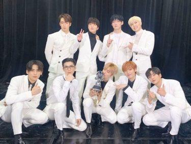 9人組ダンスボーイズグループ SF9が、韓国人気音楽番組で2冠達成!この快挙にメンバーも驚き。  「M COUNTDOWN」「Music Bank」にてデビュー以来初の1位獲得!