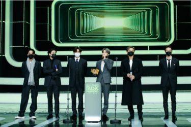 「2020 MAMA(Mnet ASIAN MUSIC AWARDS)」 BTS が大賞4冠達成!日本語字幕版は2021年1月29日CS 放送 Mnet と Mnet Smart で放送&配信!