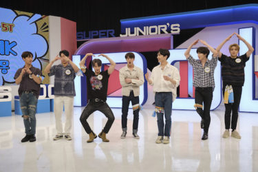 KNTV 8月のゲストはPENTAGON『SUPER JUNIORのアイドルVSアイドル』