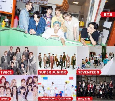 BTS、TWICE、IZ*ONEらが出演!『2020 TMA』をニコニコ生放送で日本独占生中継決定!