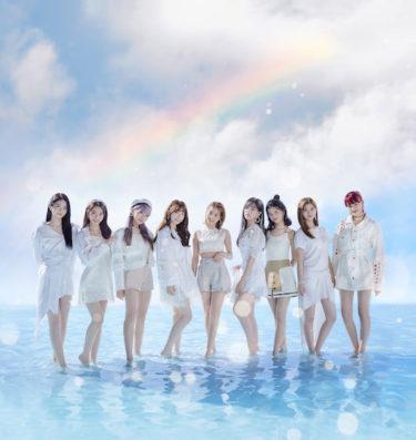 東京スカイツリー(R)でNiziUデビューシングル『Step and a step』リリースを記念した特別ライティング点灯