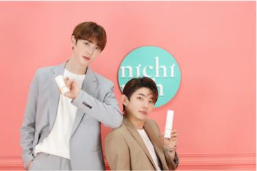 新感覚K-BEAUTY通販サイト「NICHIRICH」オープン! メインパーソナリティーにヒョビン(NTB)×ジェヒョク(元14U)!