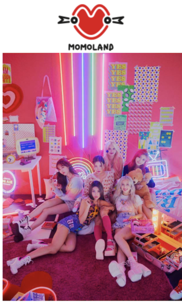 デビュー4周年を迎えるMOMOLAND 3rd Single 『Ready Or Not』11月17日リリース!