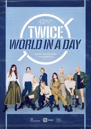 TWICE『Beyond LIVE – TWICE : World in A Day』9日ついに開催!  あのJ.Y. Parkが総合プロデュース!!