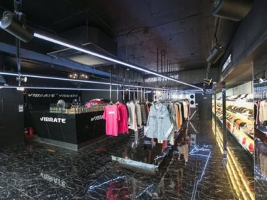 BTSやG-DRAGON愛用の韓国人気ストリートブランド VIBRATE (バイブレート) 、 60%(シックスティーパーセント)への出店、販売を開始。日本初上陸。