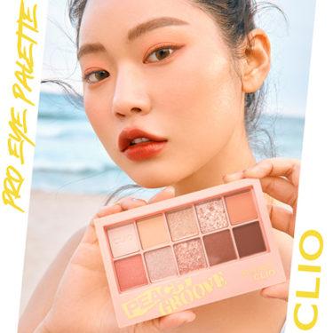 話題のアイテム「CLIO」のアイシャドウパレットが「@cosmeクチコミランキング」*にて1位獲得!公式SNSで記念イベント開催!