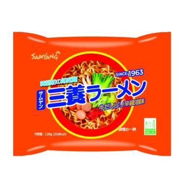 韓国の元祖インスタントラーメン 三養(サムヤン)ラーメンが日本で販売開始!