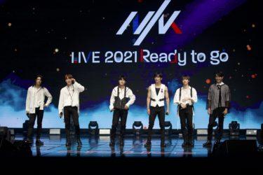 日韓合同グローバルボーイズグループNIK(ニック)2021年 第1弾ライブ 「NIKLIVE2021–Readytogo-」 久々にファンと再会!2021年待望のメジャーデビュー決定も発表!