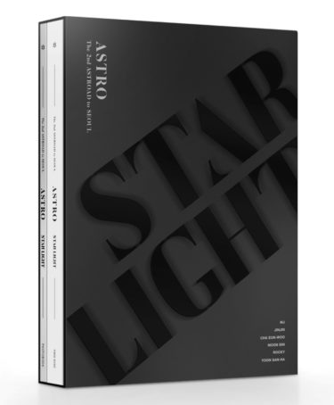 ASTRO、韓国ライブ映像ASTRO The 2nd ASTROAD to Seoul [STAR LIGHT]日本仕様版 発売決定!!